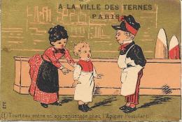 CROMOLITOGRAFIA VILLE DES TERNES PARIS - Cromo
