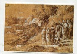 PAINTING - AK 275844 Polidoro Da Caravaggio - Landschaft Mit Auferweckung Des Lazarus - Peintures & Tableaux