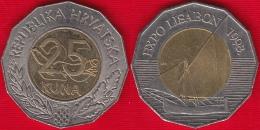 "Croatia 25 Kuna 1998 ""Expo Lisbon"" BiMetallic - Croatia"