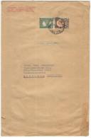 MESSICO - MEXICO - 1947 - 1 Peso + 50 Cent + Poblana + 3 Tuberculosis 1946 - Viaggiata Da Mexico Per Köln, British Zo... - Messico