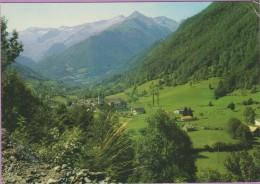 09 °° USTOU - Vue Générale Vallée De St-Lizier - écrite 1982 - Francia