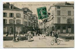 CPA  10  :   TROYES  Pont De La Cité Animé   VOIR  DESCRIPTIF   §§§ - Troyes