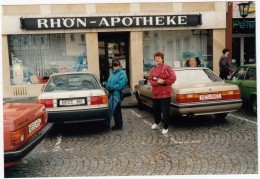2x AUDI - Rhön Apotheke - Auto's