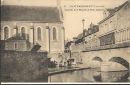 CHATEAUBRIANT - Chapelle De L Hopital Et Pont Glémois  14 - Châteaubriant