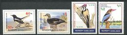 170 BANGLADESH 1983 - Yvert 183/86 - Oiseau - Neuf ** (MNH) Sans Trace De Charniere - Bangladesh