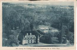 56A050 CPA 56 -GUER COETQUIDAN Camp, Château De La Ville Hue - Guer Coetquidan