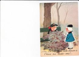 CPSM ILLUSTRATEUR GAD NOS CHERS PETITS N° 68 YVON TACHE D ARRIVER A L HEURE AU RDV EN CETTE SAISON - Illustratori & Fotografie