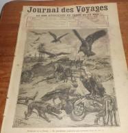 Journal Des Voyages. N°705. 1891. Pèlerinage De La Mecque. Le Cinq Mâts La France. Le Plus Grand Navire à Voiles. - Journaux - Quotidiens