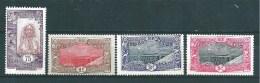 Cotes Des Somalis De 1915/16  N°96 A 99  Neufs * - French Somali Coast (1894-1967)