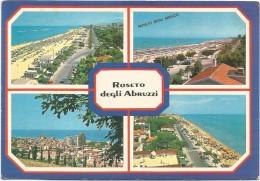 R1583 Roseto Degli Abruzzi (Teramo) - Panorama Vedute Multipla / Viaggiata 1987 - Italia