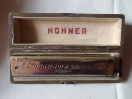 THE 64 CHRMONICA 4 CHROMATIC OCTAVES PROFESSIONAL MODEL M.HOHNER GERMANY - Instruments De Musique