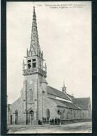 CPA - SANTEC - L'Eglise, Animé - Frankreich