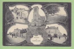 SAINTE LUCE : Souvenir De Ste Luce. Multivue. 2 Scans. Edition Vassellier - Otros Municipios