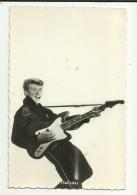 Vintage Postcard   *  Johnny Hallyday - Chanteurs & Musiciens