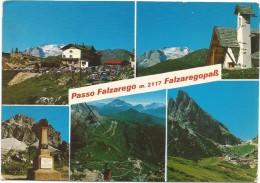 R1595 Passo Falzarego Falzaregopass (Belluno) - Panorama Vedute Multipla / Viaggiata 1983 - Italia
