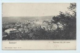 Rochefort - Panorama Pris Des Ruines - Nels Dos Simple - Rochefort