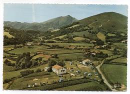 SARE--Vue Aérienne--Camping De La Petite Rhune--Hotel Picassaria ,cpsm 15 X 10 N° IK éd Sofer.............à Saisir - Sare