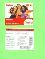 SURINAME - Remote Phonecard As Scan