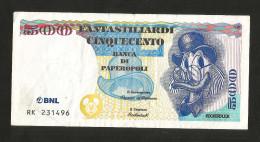 BANCA NAZIONALE Del LAVORO - 500 Fantastiliardi (Disney) 1997 / Rockerduck - [10] Assegni E Miniassegni