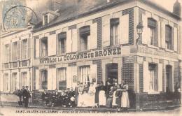 80-SAINT-VALERY-SUR-SOMME -HÖTEL DE LA COLONNE DE BRONZE - Saint Valery Sur Somme