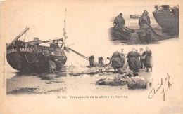 80-SAINT-VALERY-SUR-SOMME -PREPARATIFS DE LA PËCHE DU HARENG - Saint Valery Sur Somme