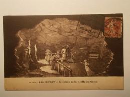 Carte Postale - ROYAT (63) - Intérieur De La Grotte Du Chien (142A) - Royat