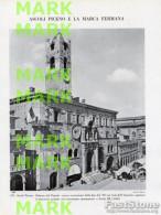 Fotoincisione MARCHE, ASCOLI PICENO, PALAZZO DEL POPOLO - OTTIMA - Prints & Engravings