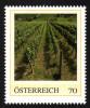 ÖSTERREICH 2014 ** Weinreben, Weinanbau Im Burgenland - PM Personalized Stamp MNH - Wein & Alkohol