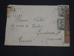 ESPAGNE – Env Avec Censure Nationaliste – A Bien étudier – Détaillons Collection - Lot N° 18388 - Marcas De Censura Nacional