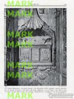 Fotoincisione EMILIA ROMAGNA, RIMINI, TEMPIO MALATESTIANO, ARCA DEGLI ANTENATI E DEI DISCENDENTI - OTTIMA - Prints & Engravings