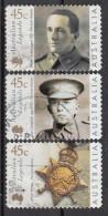 1804 Australia 2000 Australian Legends Eroi I Guerra Mondiale Parker Campbell Onorificenza Star Medaglia Used - WW1