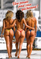 CARTE POSTALE ORIGINALE PHOTO DE JACK ; RELAX XL 6194 : JEUNES FEMMES PIN UP SEXY ET EROTIC EN TENUE DE BAIN DE MER - Pin-Ups