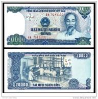 Vietnam Viet Nam UNC 20000 Dong Banknote - Vietnam