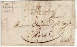 LOIRE - 88 St Symphorien De Lai  - Facture  -PD48X13 -Tm5 - 1822 - Marcophilie (Lettres)