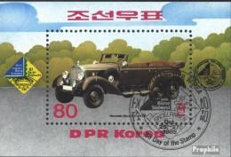 Nord-Corée Bloc 207 (complète.Edition.) Oblitéré 1985 Bourse De Timbres Sud-ouest '85 - Corea Del Nord