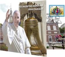 2015 - VATICANO - VATICAN - BUSTA FILATELICO-NUMISMATICA - 25° ANNIVERSARIO DEL CROLLO DEL MURO DI BERLINOBUSTA FILATELI - Vaticano