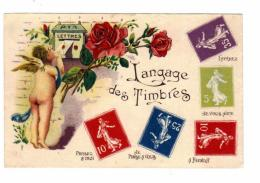 LANGAGE DES TIMBRES - Timbres (représentations)
