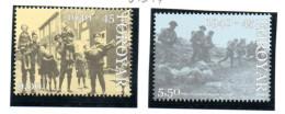 """Färöer Mi. 543/44,  """"Britische Besetzung"""" (2) ** Postfrisch - Seconda Guerra Mondiale"""