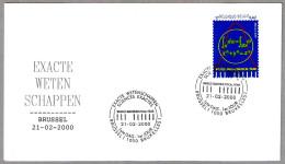 WORLD MATHEMATICAL YEAR - Ciencias Exactas - Exact Science. SPD/FDC Brussel 2000 - Ciencias