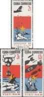 Cuba 1233-1235 (complète.Edition.) Neuf Avec Gomme Originale 1966 Guerre Dans Vietnam - Cuba