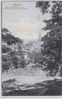 AUSTRIA POSTCARDS  SALZBURG BLICK AUF SALZBURG VON DER FAHRSTRASSE AUF DEN KAPUZINERBERG 12.5.1907 - Unclassified