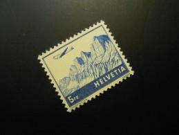 CH ZNr.34   5Fr.**MNH  Flugpost  1941 - Z CHF 75.00 - Unused Stamps