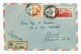 Yugoslavia 555A-6A - Lettres & Documents