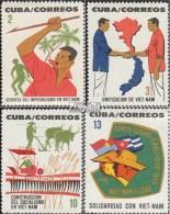 Cuba 904-907 (complète.Edition.) Neuf Avec Gomme Originale 1964 Solidarité Avec Vietnam - Cuba