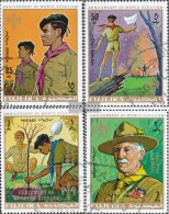 Fujeira 513A-516A (completa Edizione) Usato 1970 Scouts - Fujeira