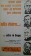 "Priester Daens Dom Modest Van Assche Rector Jan Bernaerts Pater Callewaert ""petits Vicaires"" - Arthur De Bruyne   1968 - War 1939-45"