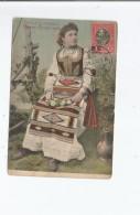 COSTUME NATIONAL SERBE 18021  (FEMME POSANT) 1911 - Serbie