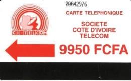 *COSTA D´AVORIO* -  Scheda Usata - Côte D'Ivoire