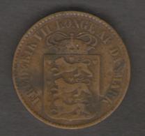 DANIMARCA 1 CENT 1860 - Danimarca