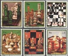 Fujeira 1319A-1324A (completa Edizione) Usato 1972 Chess Games - Fujeira